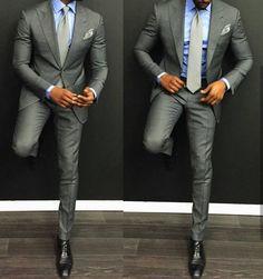 grey modern suit