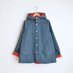 miraco : Two Tone BD JACKET Red × Navy | Sumally (サマリー)
