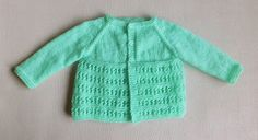 Jasmine Baby Jacket ~ DK  Jasmine Baby Jacket ~ 4ply  Jasmine Baby Jacket  for a baby of 0 – 3 months ...