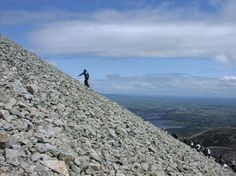 Croagh Patrick in Murrisk, Co Mayo