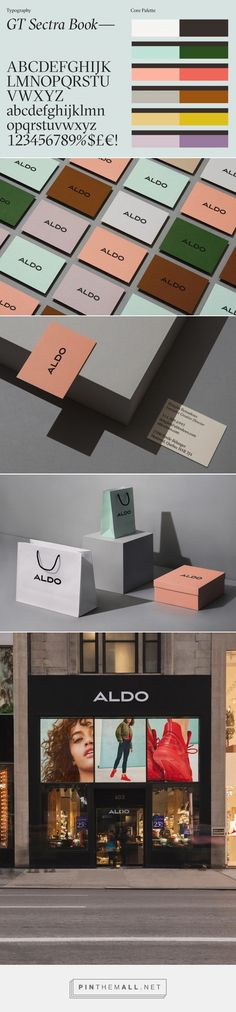 Brand New: New Logo and Identity for ALDO by COLLINS