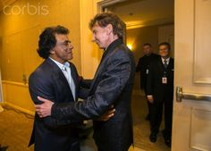 Johnny Mathis and Barry (With a cameo by Marc)