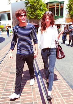Louis and Eleanor- darling. <3
