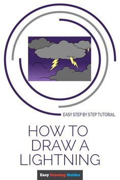 Learn to draw Lightning McQueen. This step-by-step tutorial makes it easy. Kids and beginners alike can now draw a great looking Lightning McQueen. How To Draw Lightning, Painting Lessons, Art Lessons, Drawing Tutorials For Kids, Step By Step Drawing, Learn To Draw, Popular Cartoons, Nature Drawing, Easy Drawings