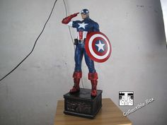 Captain America Statue Recast [Custom Made]