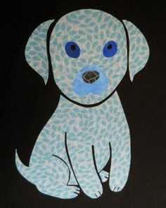 (7) Name: 'Quilting : FREE Puppy Quilting Applique Pattern