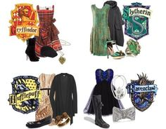 Harry Potter House Inspired Dresses