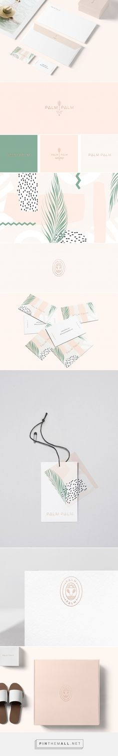 Palm Palm Beach Accessories and Vacation Essentials Branding by Kati Forner