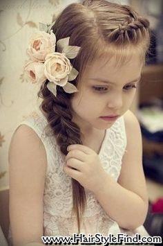Kids Wedding Hairstyles On Pinterest