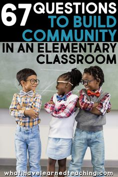 Building classroom community - 67 Questions to Build Community in an Elementary Classroom – Building classroom community New Teachers, Elementary Teacher, Elementary Schools, Upper Elementary, Community Building Activities, Building Classroom Community, Classroom Organization, Classroom Management, Behavior Management