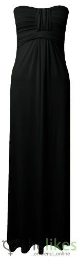 Womens Long Jersey Dress Ladies Knot Front Strapless Boobtube Maxi Dress UK 8-14 Black UK 12-14 / AUS 12-14 / US 8-10 OutofGas Clothing,http://www.amazon.com/dp/B00EV0DWB4/ref=cm_sw_r_pi_dp_uo9mtb1D3VYK1VM5