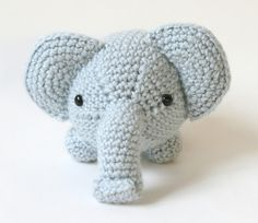 Amigurumi Elephant - FREE Crochet Pattern / Tutorial by Lion Brand Yarn