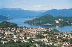 Arona, la sponda piemontese del lago Maggiore