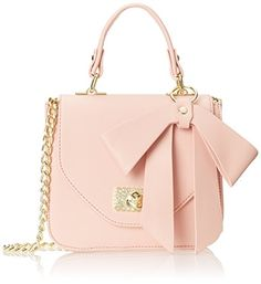 top handle bags: Betsey Johnson Sugar and Spice Magnetic Top Handle Bag, Blush, One Size Betsy Johnson Purses, Betsey Johnson Handbags, Fashion Handbags, Purses And Handbags, Fashion Bags, Fashion Plates, Style Kawaii, Mochila Adidas, Luxury Purses
