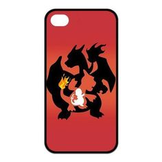 Madisonarts Customize Pokemon Charmander Iphone 4/4S Case TPU Case Fits and Protect Iphone 4 and Iphone 4s-MA-Iphone...