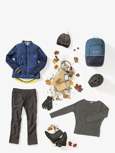 The Outfit: Bike and Everyday: Wo Cyclist Padded Jacket II Bike Bag, Urban Life, Padded Jacket, Classic Looks, Luggage Bags, Gloves, Beanie, Pants, Jackets