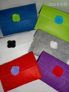 Envelopes em feltro https://www.facebook.com/coisasdefeltro?ref=hl
