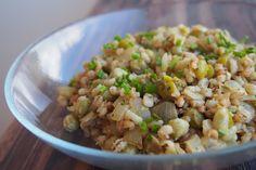Tempeh, Pavlova, Grains, Vegan Recipes, Rice, Food, Vegane Rezepte, Essen, Meals