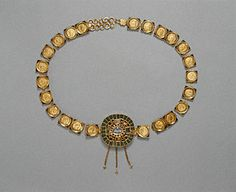 This is a Roman coin belt from 385-400 A.D.