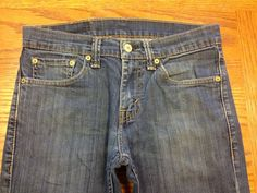 LEVIS 511 SKINNY STRETCH GRAY MENS BICYCLE JEANS SZ 33x31 Tag ...