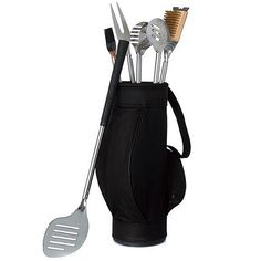 Grill and Golf Barbeque Tool Set. Great gift idea for Father's Day.