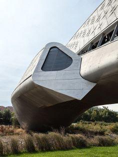 Zaha Hadid architects. Zaragoza bridge pavilion #15 | #architecture ☮k☮