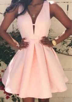 Tight Prom Dresses, A-Line Princess Sleeveless V-neck Short Satin Homecoming Dresses Yonkers Bridal - - Source by Baby Pink Prom Dresses, Tight Prom Dresses, Mini Prom Dresses, Unique Prom Dresses, Hoco Dresses, Beautiful Prom Dresses, Satin Dresses, Simple Dresses, Elegant Dresses