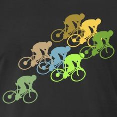 Bicycle Cycling T-Shirts: Bicycle Cycle Race T-Shirt design for Birthday or Christmas gift. Biking, Cycling, Racing, Touring T-Shirt Designs. Bicycling for boys, girls, men