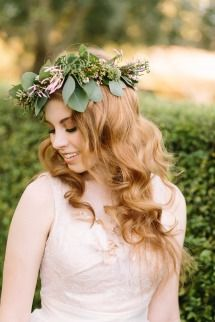 Gallery & Inspiration | Tag - Flower Crown | Page - 3 - Style Me Pretty