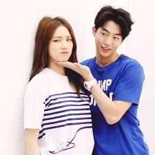 Athlete couple cuteness overload in drama!!! lee sung kyung and nam joo hyuk
