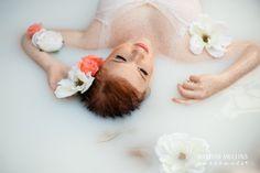 Milk Bath Photography | Denver Boudoir