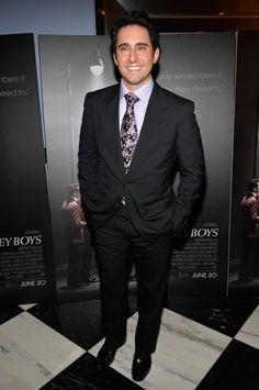 "John Lloyd Young Photos - Opening Night Of ""A Chorus Line"" At The Pantages Theatre - Red Carpet - Zimbio"