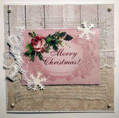 Joulukortti vintage Merry Christmas, Tableware, Vintage, Merry Little Christmas, Dinnerware, Tablewares, Wish You Merry Christmas, Vintage Comics, Dishes