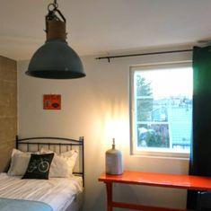 Villa Jokivarsi Bed and Breakfast Twin Room, Bed And Breakfast, Villa, Rooms, Desk, Ceiling Lights, Home Decor, Bedrooms, Desktop