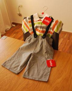 2er Set Baby Sea Captain Shirt + Baby Sea Captain Shorts von Tutta aus Finnland