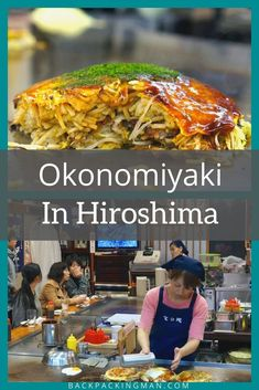 Hiroshima is famous for its okonomiyaki. This is what it's like and where to eat it! #Japan #Japanesefood Japan Travel Guide, What Is Like, Japanese Food, Soul Food, Food And Drink, Eat, Ethnic Recipes, Hokkaido Dog