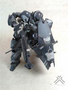 GUNDAM GUY: MG 1/100 MSN-06[G] Sinanju 'Ground Type' - Custom Build