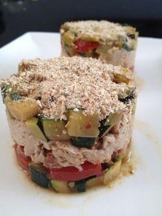 Délice de thon ... à faire avec l'empilo déco Sandwiches, Gluten, Lunch, Healthy, Food, Deco, Cherry Tomatoes, Zucchini, Eat Lunch