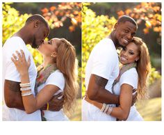 Gorgeous light and couple!! Beautiful skin tones!