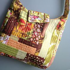 The patchwork technique used in this bag was inspired by Oh Fransson. I didn't use a backing fabric for my panels which I'm not sure was a good or bad idea. I wanted to use lining with …