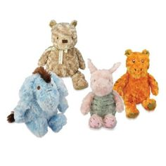 Not sure which kind looks better?  James loves Winnie the Pooh  Winnie the Pooh Classic Stuffed Animals - buybuyBaby.com