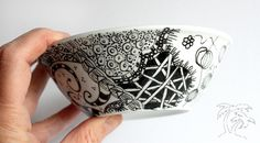 Awesome zentangles by @Anke