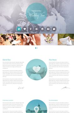 Hello, What is the best way to inform your wedding guest about incoming ceremony? Yes - it is website. And this is where my role start. I can create great website for you - I will set up free server for you and apply that theme.... on #PeoplePerHour