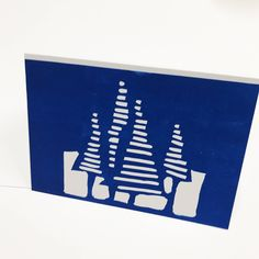 Items similar to Set of four Lino cut christmas cards , hand made hand printed christmas cards on Etsy Christmas Cards, Christmas Decorations, Xmas, Christmas Ideas, Cyanotype, Star Designs, Printmaking, Lino Cuts, Printed