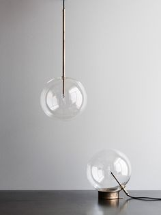 Bolle Pendant & Table Lamp