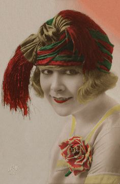You love your little flapper girls, with their 1920's faces. Do you think faces go out of style?