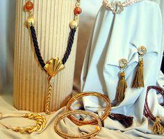 https://www.facebook.com/GeorgiaVasilopoulou.GV/  #earrings #bracelets