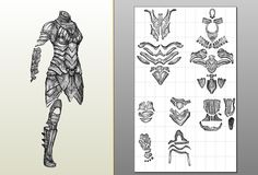 JFcustom's FOAM files..Tons of patterns for foam armor.