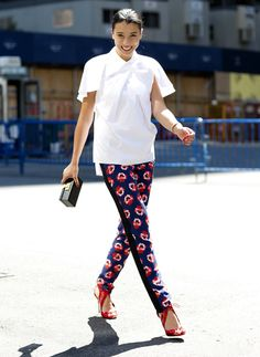Incorporate Prints in Your Corporate Look - Star Style PH Smart Casual Outfit, Casual Outfits, Office Fashion, Work Fashion, Women's Fashion, Fashion Ideas, Fashion Tips, Who What Wear, Look Star