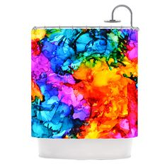 """Claire Day """"Sweet Sour II"""" Shower Curtain - Outlet Item from KESS InHouse"""